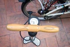 Rowerowa pompa Zdjęcie Royalty Free