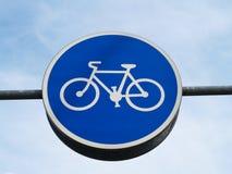 rowerowego pasa ruchu znak Obrazy Royalty Free