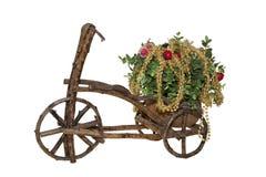 rowerowi boże narodzenia Obraz Royalty Free