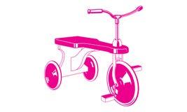 rowerowi dzieci s Zdjęcia Royalty Free