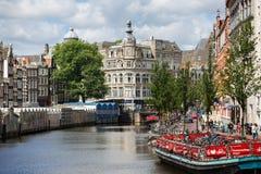 rowerowy Amsterdam parking Zdjęcie Stock