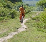 rowerowy buddyjski michaelita zdjęcie stock