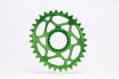 Rowerowy chainring Obrazy Royalty Free