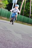 rowerowy dziecko Zdjęcia Royalty Free