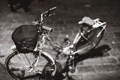 Rowerowy Florencja mono zdjęcie stock