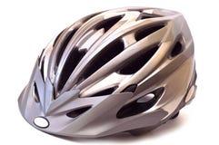 rowerowy hełm odizolowywał Fotografia Stock