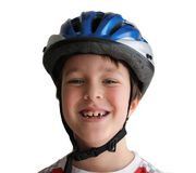 rowerowy hełm Obraz Stock