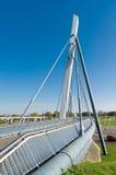 Rowerowy i zwyczajny most Zdjęcia Stock