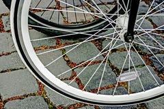 Rowerowy koło. Szczegół 21 Fotografia Stock