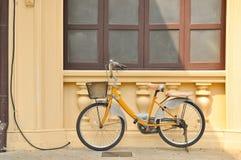 rowerowy kolor żółty Obrazy Stock