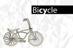 rowerowy kontur Zdjęcia Stock