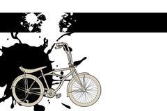 rowerowy kontur Obrazy Royalty Free