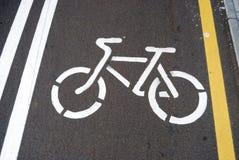 rowerowy konturowy rysunek Obraz Stock