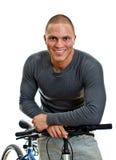 rowerowy męski sporty Zdjęcie Royalty Free