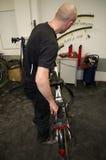 Rowerowy mechanik zdjęcia royalty free