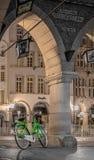 Rowerowy miasta MÃ ¼ nster, Niemcy zdjęcia royalty free