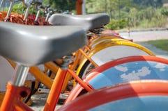 rowerowy miasto Fotografia Stock