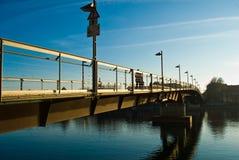 rowerowy most Obraz Royalty Free