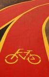 rowerowy pas ruchu Fotografia Stock