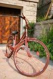 rowerowy stary jard Obrazy Stock