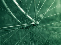 rowerowy stary koło Obrazy Royalty Free