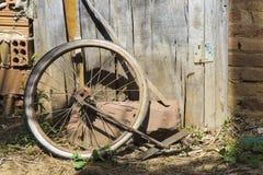 rowerowy stary koło Fotografia Royalty Free