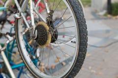 rowerowy stary koło Zdjęcia Stock