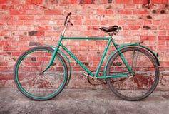 rowerowy stary retro Zdjęcie Stock