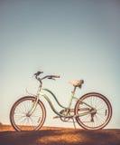 rowerowy stary retro Obrazy Royalty Free