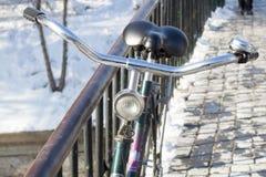 rowerowy stary rocznik Fotografia Royalty Free