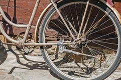 rowerowy stary rocznik Obraz Royalty Free