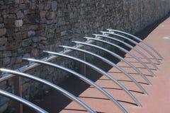 rowerowy stojak Obrazy Royalty Free