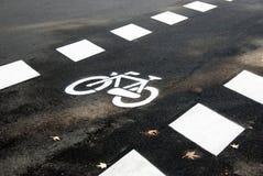 rowerowy symbol Fotografia Royalty Free