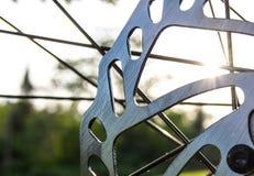 Rowerowy talerzowy hamulec Zdjęcia Stock
