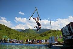 rowerowy turniejowy nurkowy snowboard Obraz Stock