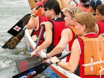 rowers повелительницы стоковая фотография