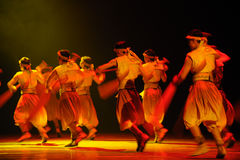 Rowers-The second act of dance drama-Shawan events of the past. Guangdong Shawan Town is the hometown of ballet music, the past focuses on the historical Stock Photos