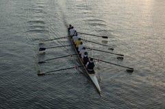 Rowers sul fiume (ii) Fotografia Stock Libera da Diritti