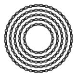 Roweru łańcuchu okrąg Fotografia Royalty Free