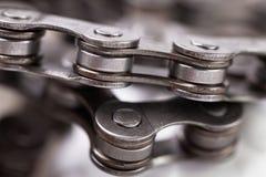 Roweru łańcuch Zdjęcia Stock