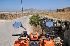 roweru brudny motorowy kwadrata sport Zdjęcie Royalty Free