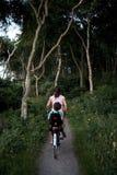 roweru dziecka matka Ilustracja Wektor
