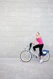 roweru dziewczyny potomstwa Obrazy Stock