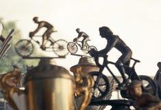 Roweru górskiego trofeum obrazy royalty free