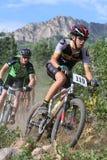 roweru góry setkarz obrazy stock