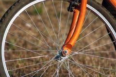 Roweru koło Fotografia Stock