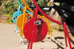 roweru kolor trzy Obrazy Royalty Free