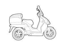 roweru kontur Obrazy Stock
