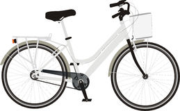 roweru miasto Fotografia Stock