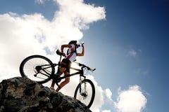 roweru napoju góra Obraz Royalty Free